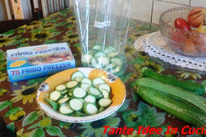 Tempo di zucchine… facciamo scorta per l'inverno!